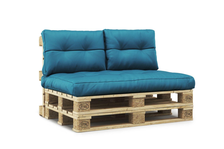 Coussins pour meubles en palettes turquoise   Gonser.ch   Magasin en ligne  pour vos achats à bas prix